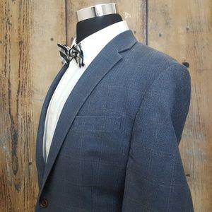Lauren Ralph Lauren Sport Coat Mens 44R Silk Blend